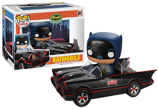 01 Batmobile funko pop