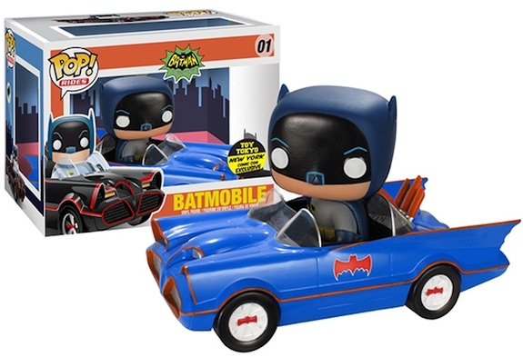 01 Blue Batmobile funko pop