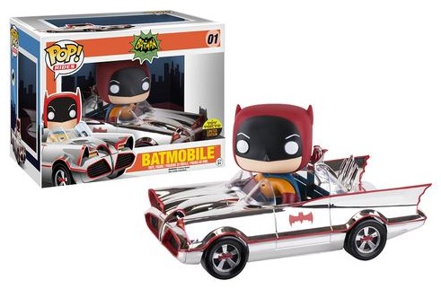 01 Chrome Batmobile funko pop