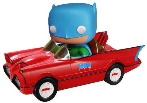 01 Red Batmobile funko pop