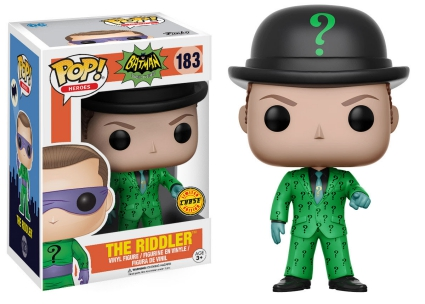 pop 183 The Riddler con bowler hat
