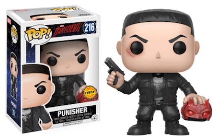 216 Punisher Chase funko