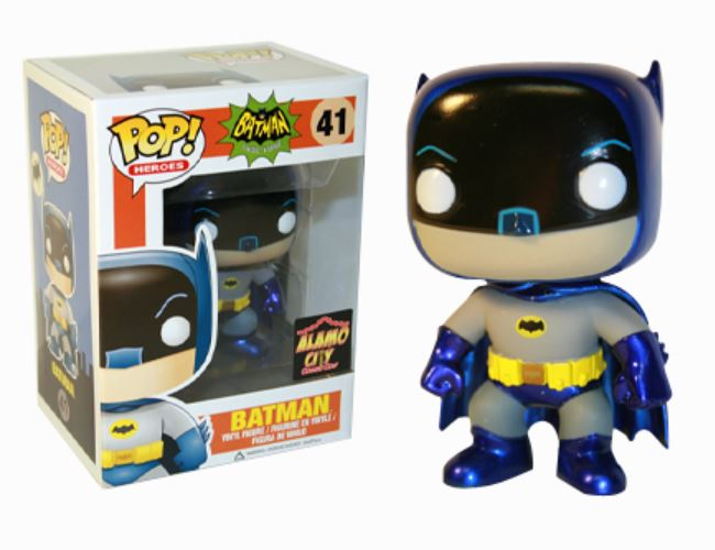 41 Batman Metallic funko
