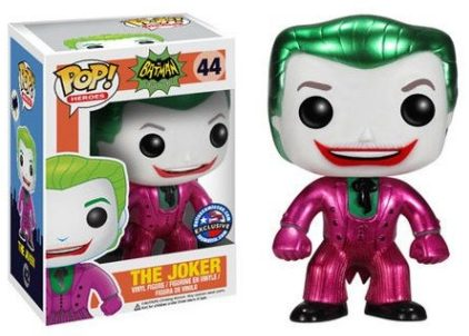44 The Joker Metallic funko pop