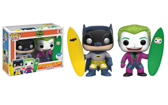 funko Batman & Joker Surfs Up!